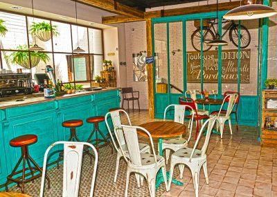 Un nouvel établissement Charlotte dans le quartier madrilène de Boadilla del Monte, par MisterWils, décoration, vintage, furniture for free souls