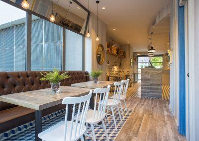 Prandium Caffe : réalisé par 4Cadires, aménagé par MisterWils ! Architecure d'intérieur, décoration, vintage, furniture for free souls