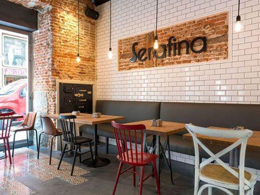 Le restaurant madrilène Serafina a fait confiance à MisterWils