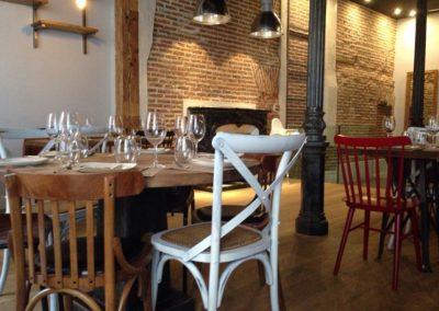 Le restaurant madrilène Serafina a fait confiance à MisterWils, architecture d'intérieur, vintage, décoration, furniture for free souls