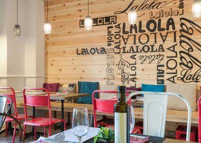 La taverne Lalola Gourmet, nouveau restaurant de Javier Abascal à Séville, par MisterWils, architecte d'intérieur, furniture for free souls