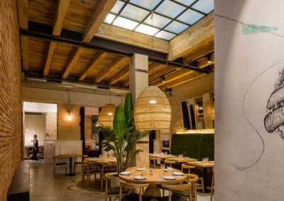 Torres et Garcia, nouveau restaurant décoré par Persevera Producciones, avec MisterWils, architecture d'intérieur, furniture for free souls