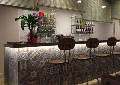BodhiGreen, un restaurant végétarien dans le centre d'Alicante, par MisterWils, architecture d'intérieur, furniture for free souls