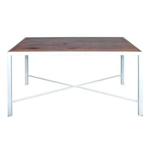 FLOOR Table auxiliaire en bois, adaptable à tous les intérieurs, de design sobre ou contemporain. Produit fabriqué par MisterWils, les dimensions et finitions sont personnalisables.