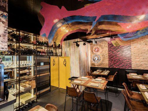 Restaurant La Antxoeta dirigé par le chef Pablo Caballero
