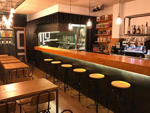 Relooking du restaurant Montagú par Zinkers