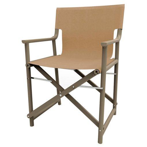 BOSS Chaise pliable, pour usage intérieur ou extérieur. En polypropylène avec fibre de verre. Protection anti-UV.