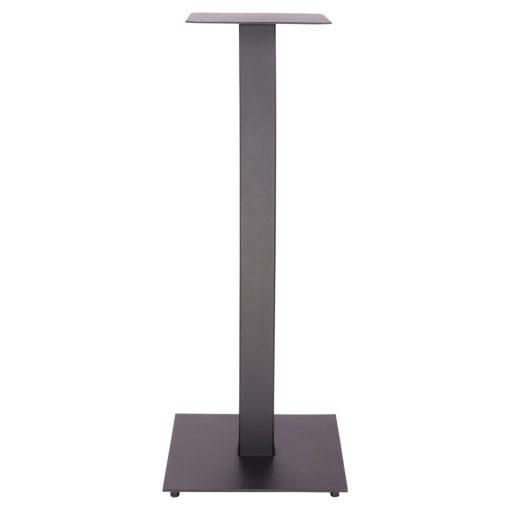 PIED FERRO Pied de table de style industriel-Contract fabriqué en fer forgé, résistant et très stable. Finition blanc, cuivré ou noir.