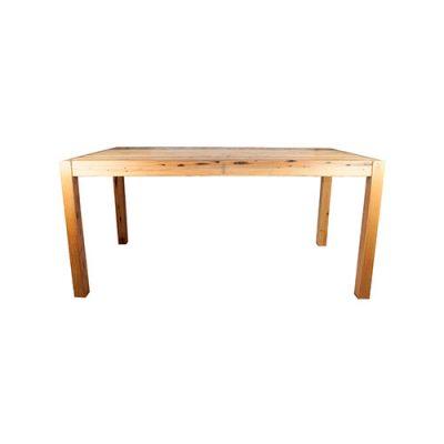 FLOWER Table d'intérieur en bois, idéal pour un restaurant ou un café. Posibilité de fabrication sur mesure. Disponible en bois ancien ou bois neuf effet vieilli.