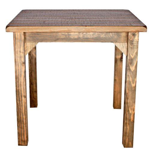 PRETTY RUSTICA Table de style rustique, fabriquée en bois avec effet vieilli. Fabrication sur mesure en Espagne. Couleur, structure et finition personnalisables.