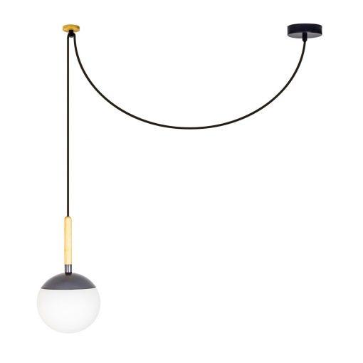 LAMPE PLAFONNIER MINE de style scandinave | Trouvez-la chez MisterWils. Plus de 4000m² d'exposition. 1