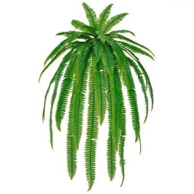 HELECHO Plante artificielle décorative de grande taille, idéale pour une ambiance fraîche et un style tropical.