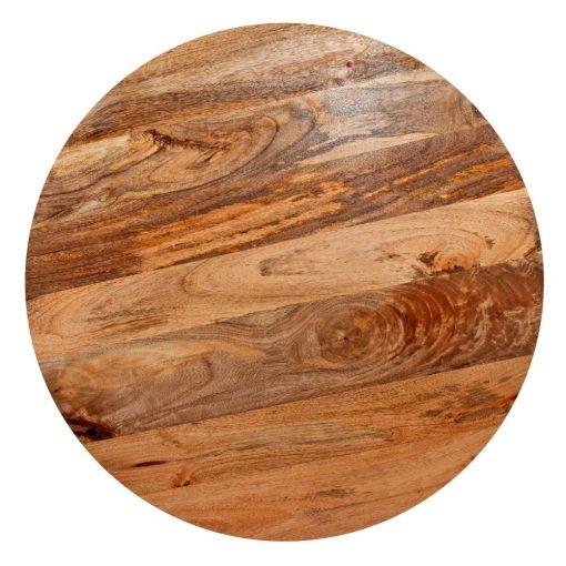 PLATEAU DE MANGUIER Plateau en bois de manguier naturel de 4cm d'épaisseur.