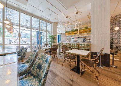 Sargo, el Arrecife de Madrid, un nouveau restaurant par Marta Banús, avec MisterWils, architecture d'intérieur, furniture for free souls