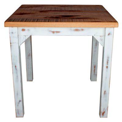 PRETTY VINTAGE Table de style vintage, fabriquée en bois avec effet vieilli. Fabrication sur mesure en Espagne. Couleur, structure et finition personnalisables.