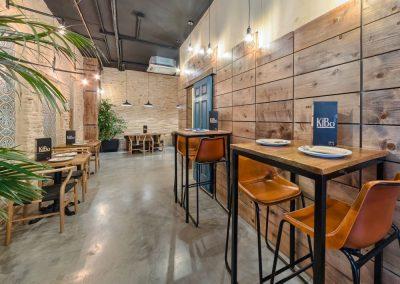 Kibo Gastro Club, un restaurant polyvalent à Séville-Est, par MisterWils, décorationm architecture d'intérieur, furniture for free souls