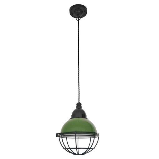 CLAIRE Lampe de plafond de style industriel, structure en métal. culot E27. Max 15W. Dimensions: Ø16,5x14x164 cm