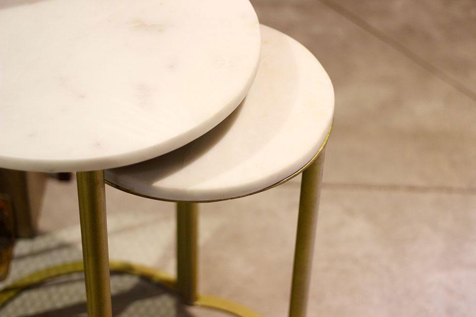 Découvrez les tables en marbre de MisterWils