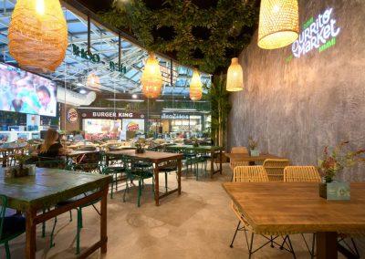 Burrito Market, un nouveau concept gastronomique à Séville avec MisterWils, furniture for free souls, architecture d'intérieur, vintage...