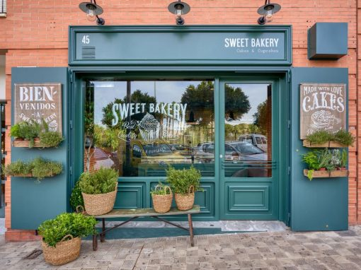 Sweet Bakery, l'artisan pâtissier anglais, par MisterWils