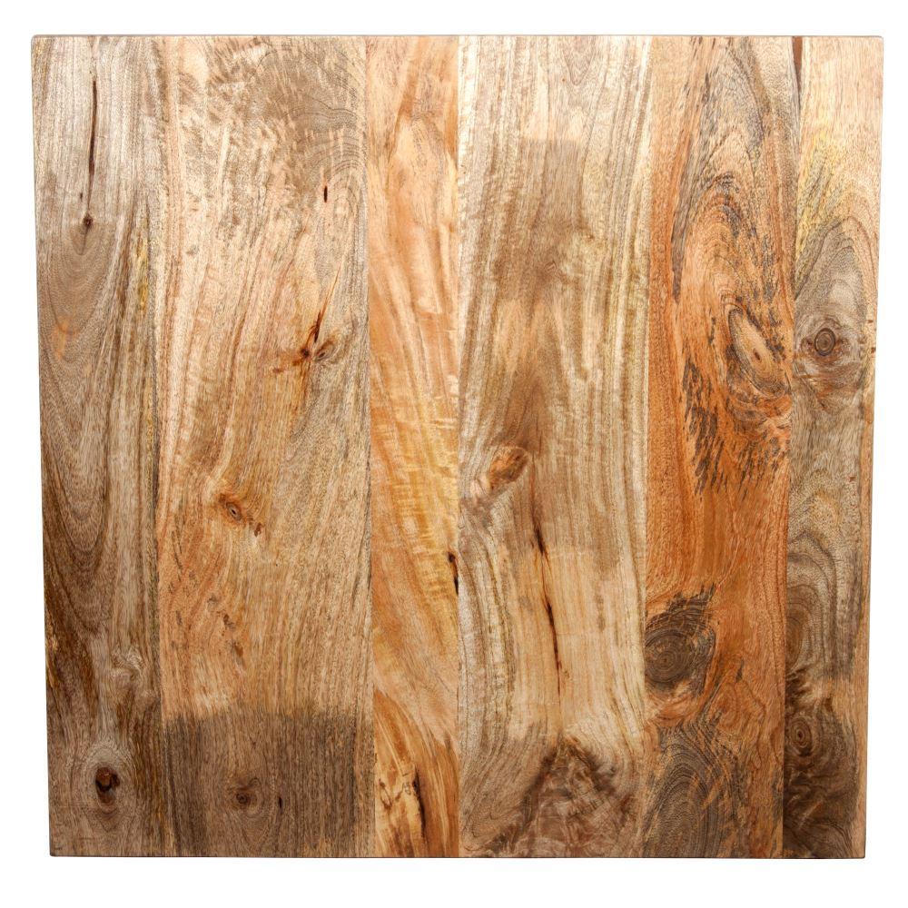DELHI PLATEAU DE MANGUIER Plateau en bois de manguier naturel de 4cm d'épaisseur.
