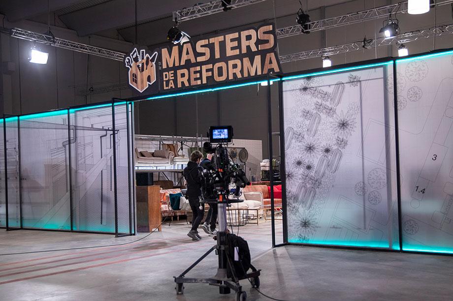 Découvrez tout notre mobilier dans l'émission Masters de la reforma