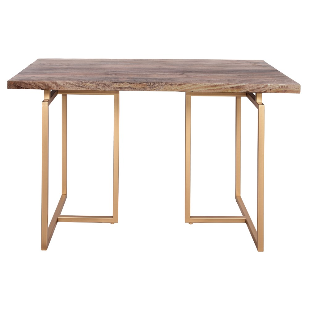Cinq tables de bureau qui incitent au travail et à l'inspiration. Table Libélula Gold