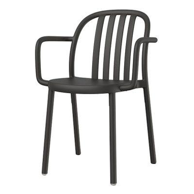SUE ARMCHAIR Chaise adaptée pour un usage intérieur ou extérieur avec structure en polypropylène.Empilable. Protection UV. Plusieurs couleurs disponibles.