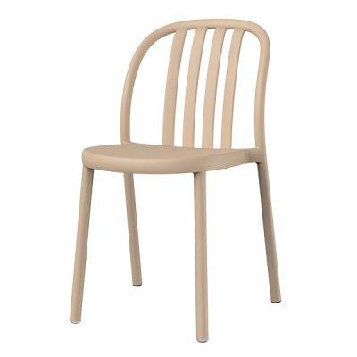 SUE Chaise adaptée pour un usage intérieur ou extérieur avec structure en polypropylène.Empilable. Protection UV. Différentes couleurs disponibles.