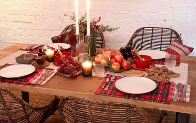 Tables de Noël de MisterWils pensées pour profiter de la fête 🥂