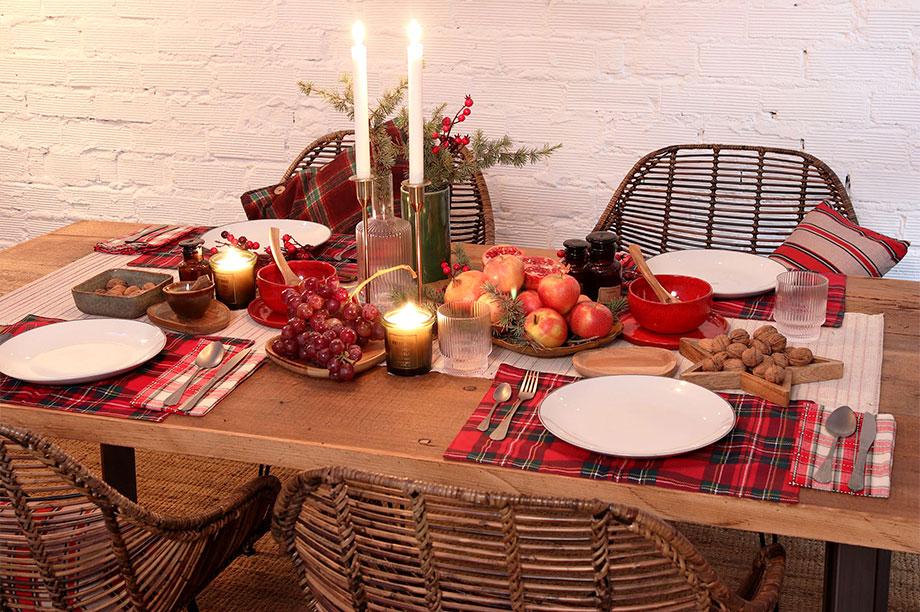 Tables de Noël de MisterWils pensées pour profiter de la fête
