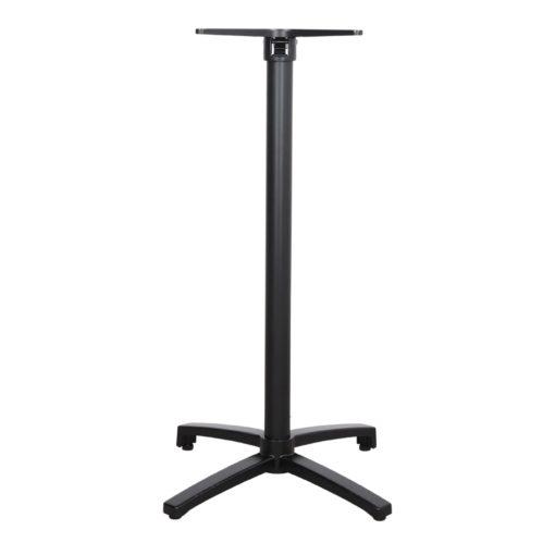 OWEN PIED BLACK Pied pliable en aluminium pour table. Trouvez-le chez Mister Wils. Plus de 4000m² d'exposition. Buffets, étagères, luminaires, tables, chaises, canapés et banquettes, tabourets, ventilateurs, plantes artificielles...4