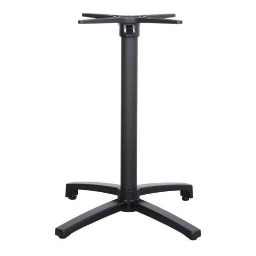 OWEN PIED BLACK Pied pliable en aluminium pour table. Trouvez-le chez Mister Wils. Plus de 4000m² d'exposition. Buffets, étagères, luminaires, tables, chaises, canapés et banquettes, tabourets, ventilateurs, plantes artificielles...2