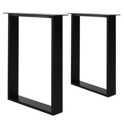 PAKIRA BLACK Structure en tubes d'acier pour table de style industriel. Trouvez-la chez Mister Wils. Plus de 4000m² d'exposition. Buffets, étagères, luminaires, tables, chaises, canapés et banquettes, tabourets, ventilateurs, plantes artificielles...