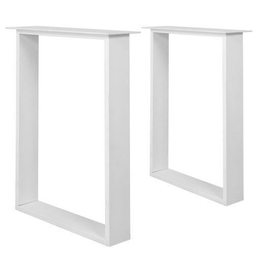 PAKIRA WHITE Structure en tubes d'acier pour table de style industriel. Trouvez-la chez Mister Wils. Plus de 4000m² d'exposition. Buffets, étagères, luminaires, tables, chaises, canapés et banquettes, tabourets, ventilateurs, plantes artificielles...