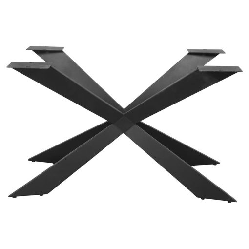CORBYN STRUCTURE en acier pour table de style contemporain. Trouvez-la chez Mister Wils. Plus de 4000m² d'exposition. Buffets, étagères, luminaires, tables, chaises, canapés et banquettes, tabourets, ventilateurs, plantes artificielles...