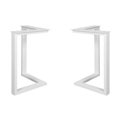 GUITARRA STRUCTURE WHITE tubes d'acier pour table style industriel. Trouvez-la chez Mister Wils. Plus de 4000m² d'exposition. Buffets, étagères, luminaires, tables, chaises, canapés et banquettes, tabourets, ventilateurs, plantes artificielles...