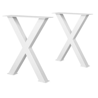 MAYA STRUCTURE WHITE tubes d'acier pour table style industriel. Trouvez-la chez Mister Wils. Plus de 4000m² d'exposition. Buffets, étagères, luminaires, tables, chaises, canapés et banquettes, tabourets, ventilateurs, plantes artificielles...