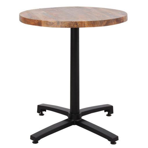 OWEN TABLE BLACK Table avec plateau en bois et pied en aluminium. Trouvez-la chez Mister Wils. Plus de 4000m² d'exposition. Buffets, étagères, luminaires, tables, chaises, canapés et banquettes, tabourets, ventilateurs, plantes artificielles...