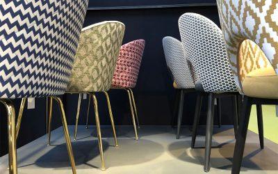 Nos nouvelles chaises tapissées présentées à la Foire de Saragosse