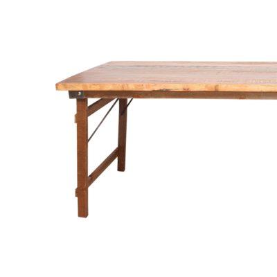 FOLDING Structure pour table de style vintage industriel | Trouvez-la chez Mister Wils. Plus de 4000m² d'exposition. Buffets, étagères, luminaires...