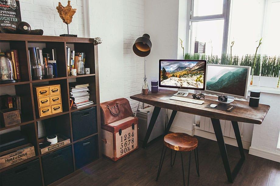 Comment organiser sa maison pour y travailler et la transformer en bureau | Blog de MisterWils, furniture for free souls, industriel, vintage, scandinave...
