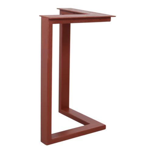 GUITARRA STRUCTURE OXIDO tubes d'acier pour table style industriel. Trouvez-la chez Mister Wils. Plus de 4000m² d'exposition.