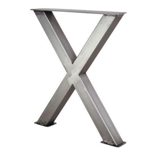 MAYA STRUCTURE BARNIZ tubes d'acier pour table style industriel. Trouvez-la chez MisterWils. Plus de 4000m² d'exposition...
