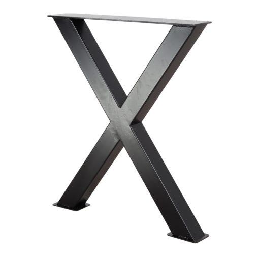 MAYA STRUCTURE BLACK tubes d'acier pour table style industriel. Trouvez-la chez MisterWils. Plus de 4000m² d'exposition...