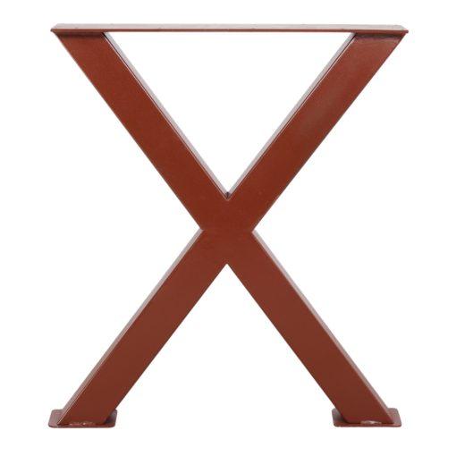 MAYA STRUCTURE OXIDO tubes d'acier pour table style industriel. Trouvez-la chez MisterWils. Plus de 4000m² d'exposition...