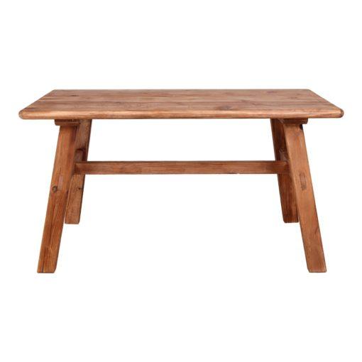 FINLAND Table basse de style rustico-vintage fabriquée en bois de pin recyclé. | Trouvez-le chez Mister Wils. Plus de 4000m² d'exposition.