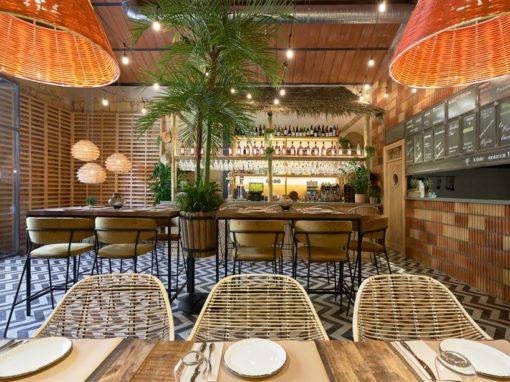 La Cantina Kulinaria, aménagée et décoré par l'équipe de MisterWils