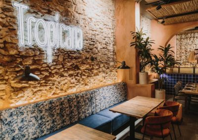 Tropicana a fait confiance à MisterWils pour la décoration de son nouvel établissement à Ronda