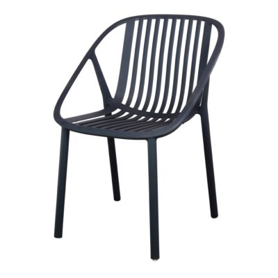 BINI Chaise empilable pour un usage intérieur ou extérieur. Structure en polypropylène. Protection anti-UV. Trouvez-là chez MisterWils